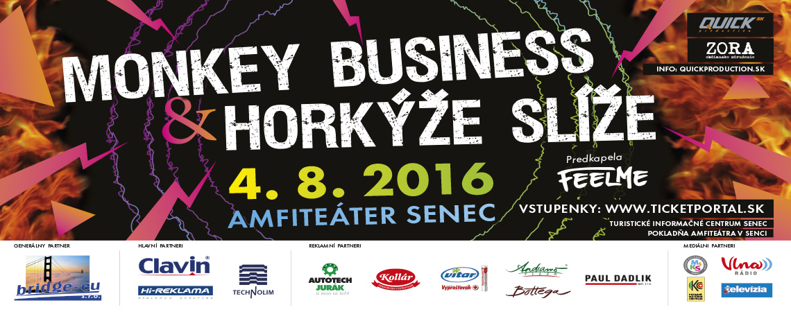 Monkey Business & Horkýže slíže